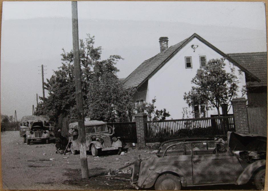 Mlčechvosty, květen 1945